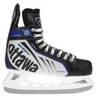 Коньки хоккейные OTTAWA, цвет чёрный, размер 33