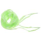 Шнурки люминесцентные, цвет зеленый