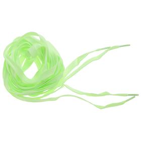 Шнурки люминесцентные, цвет зеленый Ош