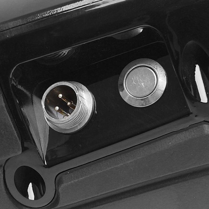 Гироскутер 350W, 36V 4.4A Bluetooth, кол 6.5 дюйм, 10 км/ч, вес польз. до 120 кг, цв черный 1