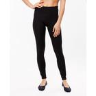 Легинсы женские спортивные, цвет чёрный, размер 50 (XL)