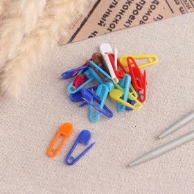 A set of pins, 2.6 cm 20 PCs, MIX color