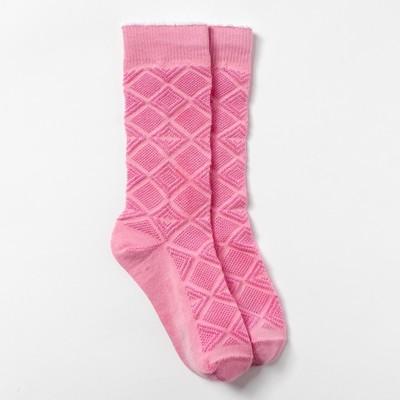 Гольфы детские ФС108-002, цвет розовый, р-р 12-14