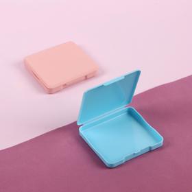 Органайзер для хранения гигиенических принадлежностей, 6 × 6,5 см, цвет МИКС Ош