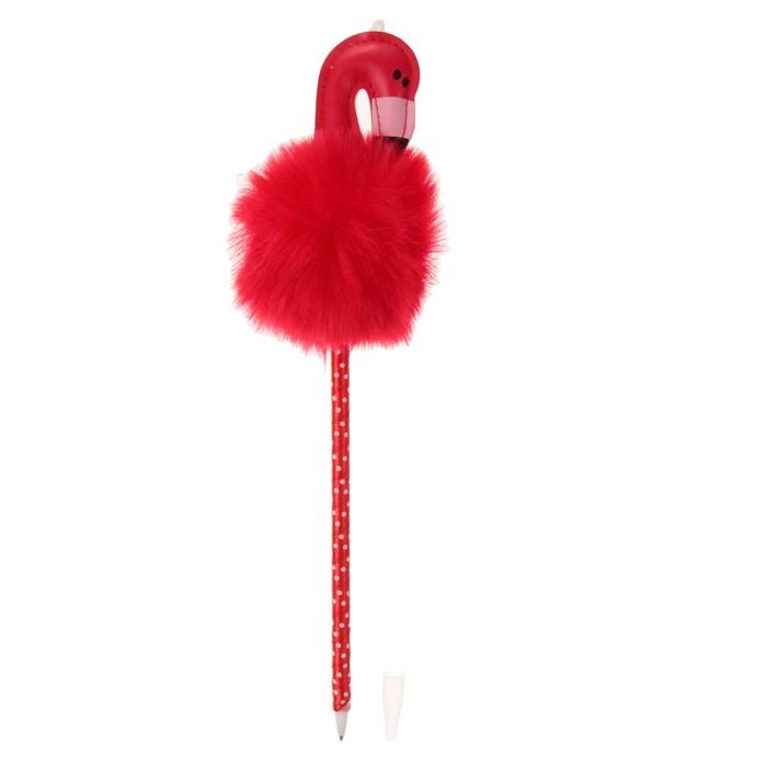 """Ручка """"Фламинго"""", цвета МИКС"""