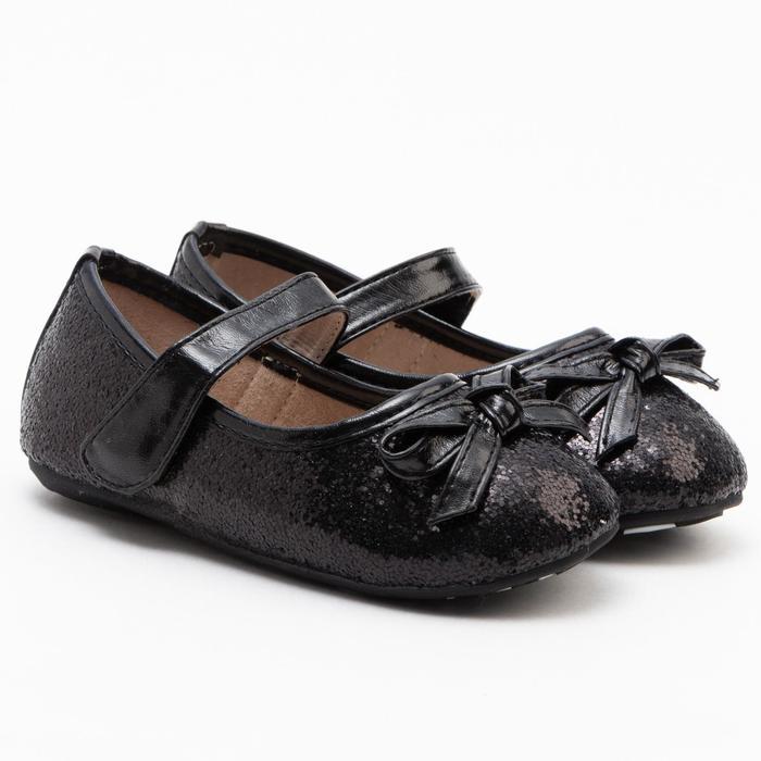 Туфли детские MINAKU, цвет чёрный, размер 19