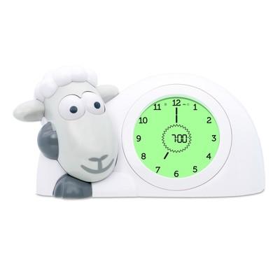 Часы-будильник для тренировки сна «Ягнёнок Сэм» (SAM) ZAZU цвет серый, 2+