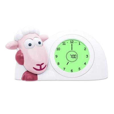 Часы-будильник для тренировки сна «Ягнёнок Сэм» (SAM) ZAZU цвет розовый, 2+