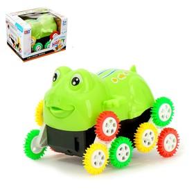 Машина-перевертыш «Лягушка», работает от батареек