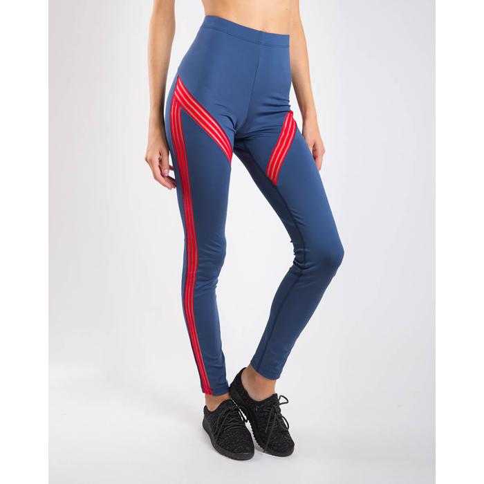Легинсы женские спортивные, цвет синий, размер 44 (S)