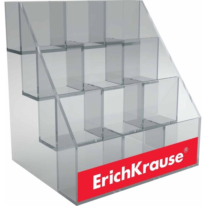Дисплей Erich Krause на 12 стаканов, 248 х 245 х 195 мм