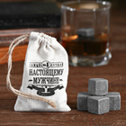 """The whisky stones are """"The best"""", 4 PCs."""
