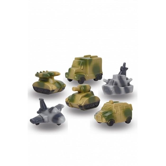 Набор резиновых игрушек «Военная техника»