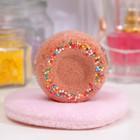 "Бурлящий шар для ванн ""Имбирный пончик"", 60 г - фото 1862555"