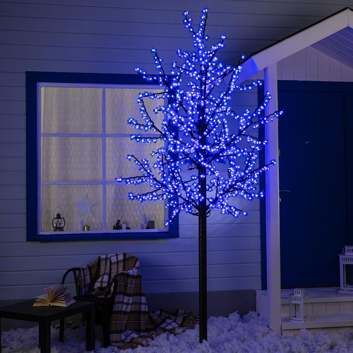 """Дерево светодиодное улич. 2,5 м. """"Баугиния"""" 1152Led, 70W, 220V Синий"""