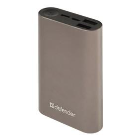 Внешний аккумулятор Defender Lavita Fast 6000B, 2 USB+1 Type-C, 6000 мАч, 3A