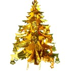 """Balloon foil """"Christmas Tree with bells"""" 32*41 cm"""