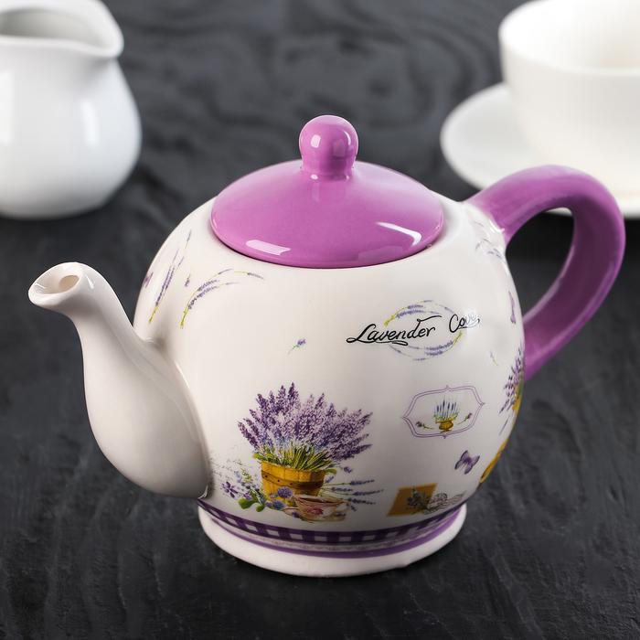 Чайник заварочный «Душистая лаванда», 400 мл