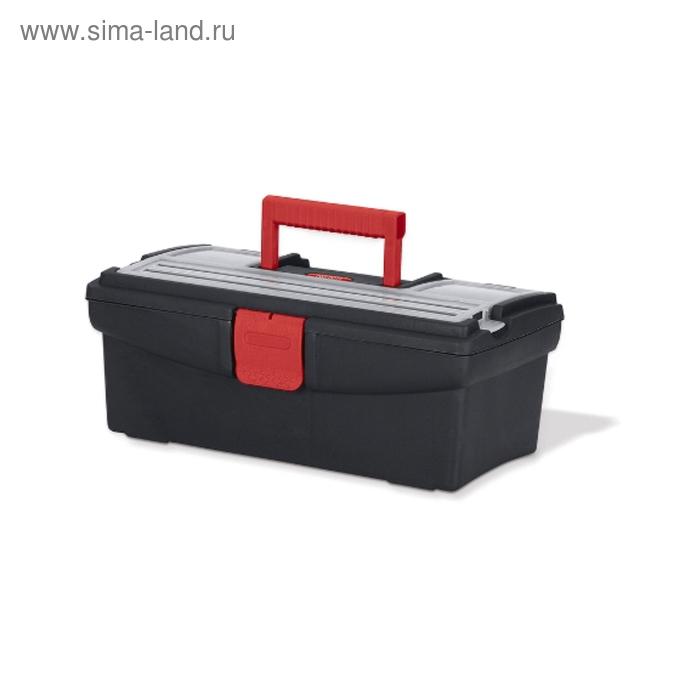"""Ящик для инструментов Tool Box, 13"""", чёрно-красный"""