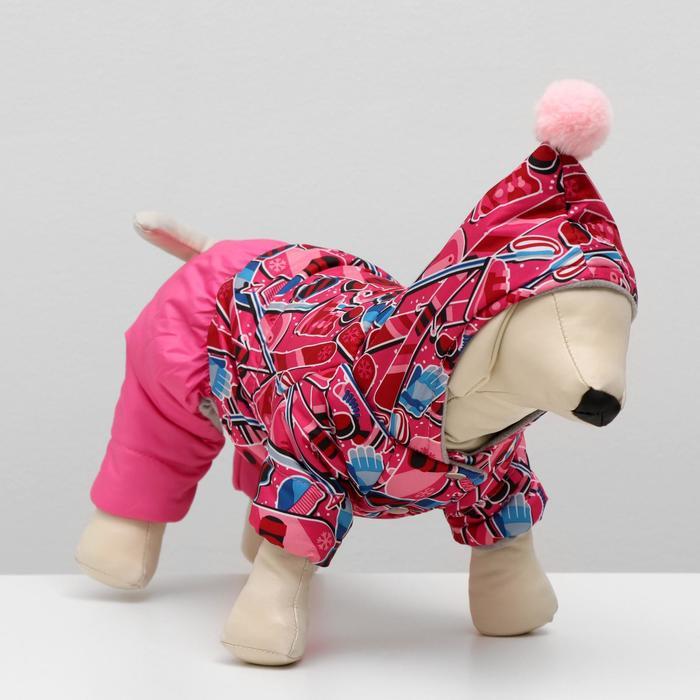 """Комбинезон """"Тандем"""" для собак, размер 2XL (ДС 34-36 см, ОШ 34-36 см, ОГ 44-48 см) микс"""