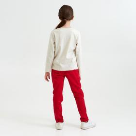 """Джемпер для девочки MINAKU """"Лебедь"""", рост 104-110 см, цвет серый"""