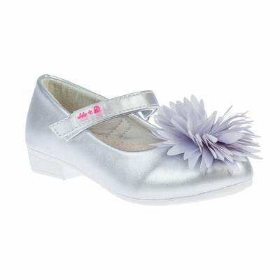 Туфли для девочки М+Д арт. 1725_16 (серебряный) (р. 32)
