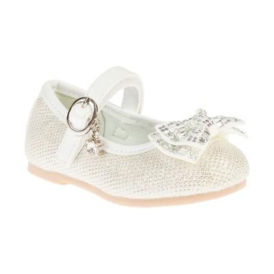 Туфли для девочки Сказка арт. R279823525 (белый) (р. 27)