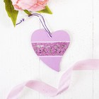 "Pendant ""Pink heart"""