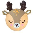 Мягкая игрушка «Пуфик: Олень» 40см ? 40см, цвет коричневый - фото 105456711