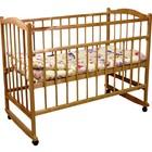 Кроватка детская «Фея 204» мёдовая