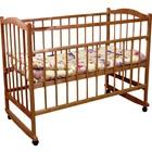 Кроватка детская «Фея 204» орех