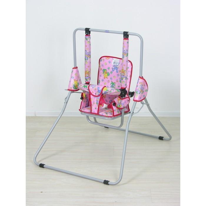 Качели Фея «Малыш» ткань с пропиткой, цвет МИКС
