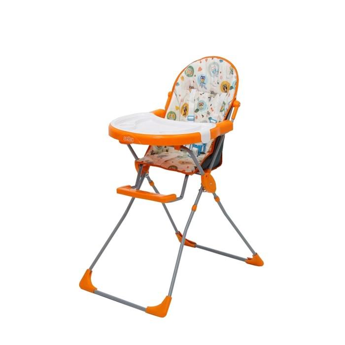 Стульчик для кормления Selby 251 «Совы» оранжевый