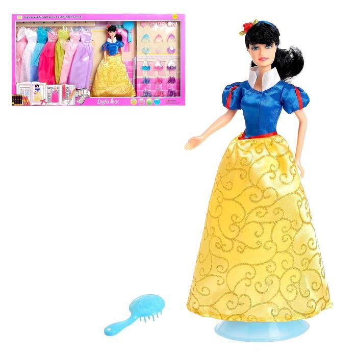 Кукла модель «Анна» с набором вечерних платьев и аксессуаров, МИКС