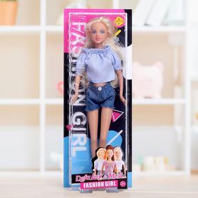 Кукла модель «Оля» стильный образ , МИКС