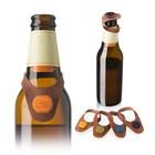 Маркер-пробка для пива, 6 шт, кожа