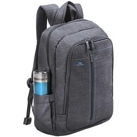 """Рюкзак для ноутбука 15,6"""" RivaCase 7560 42,5*31*11,5см, полиэстер, серый"""