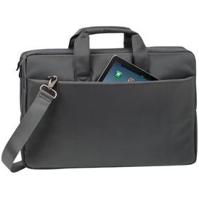 """Сумка для ноутбука 17,3"""" RivaCase 8251 43*29,8*5см, полиэстер, серый"""
