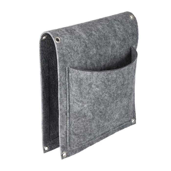 Фитомодуль, 2 кармана, 26 × 66 см, полиэстер