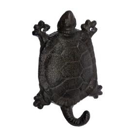 Крючок «Черепаха», 9,5 × 14 × 3 см, чугун