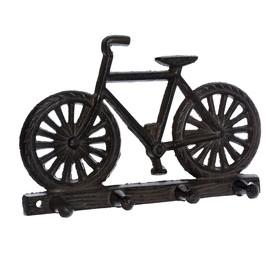 Вешалка «Велосипед», 30 × 20 × 13,5 см, чугун