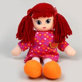 Кукла «Вика», с брошкой, 30см