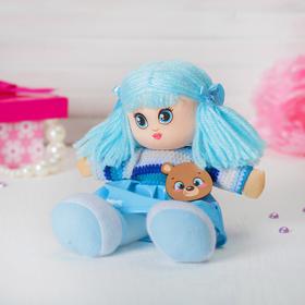 Кукла «Элли», с брошкой, 22 см