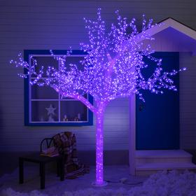 """Дерево светодиодное улич. 3 м. """"Акриловое"""" 2304 Led, 140 W, 220V Мульти(RGB)"""