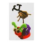 Набор для создания игрушки из меховых палочек и помпошек «Жук и улитка»