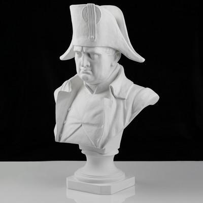Гипсовая фигура, бюст Наполеона «Мастерская Экорше», 36 х 21 х 53 см