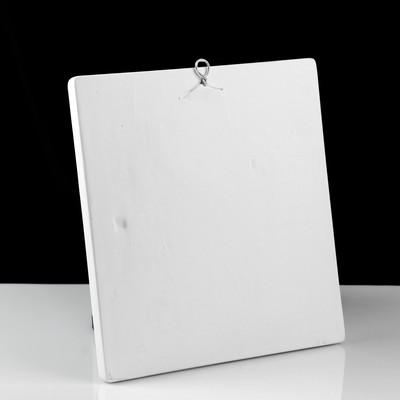Гипсовая фигура. Орнамент «Ветка лавра», 28.5 х 30 х 4.5 см