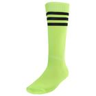 Гетры футбольные р, 38-40, цвет салатовый