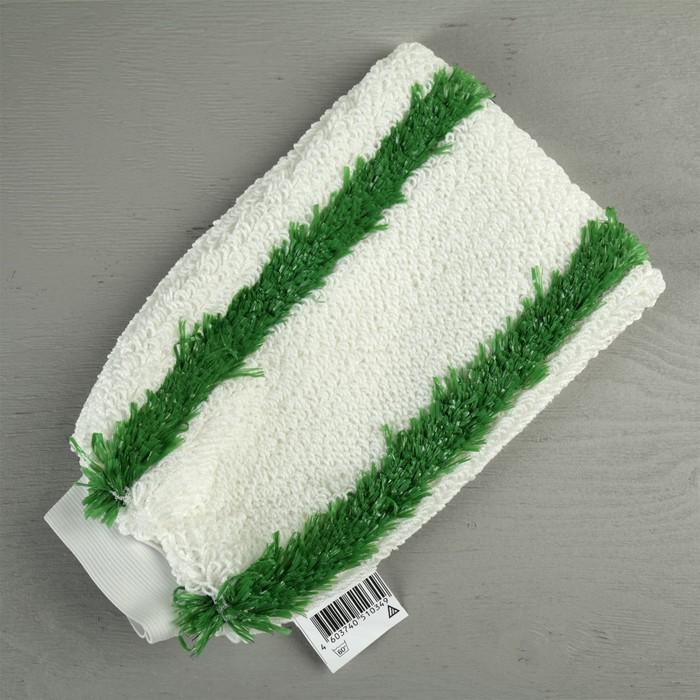 Рукавица для уборки с резинкой, текстиль