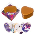 """Шкатулка с наклейками """"Любимой подруге"""" в подарочной коробке"""